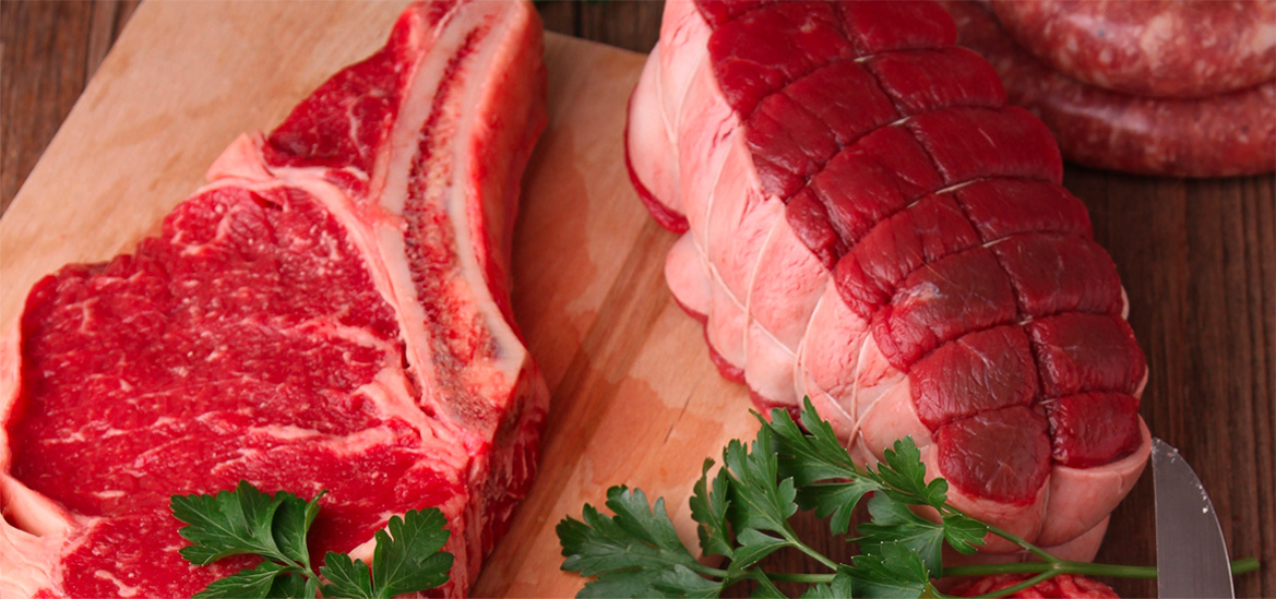 Cuts of red meat