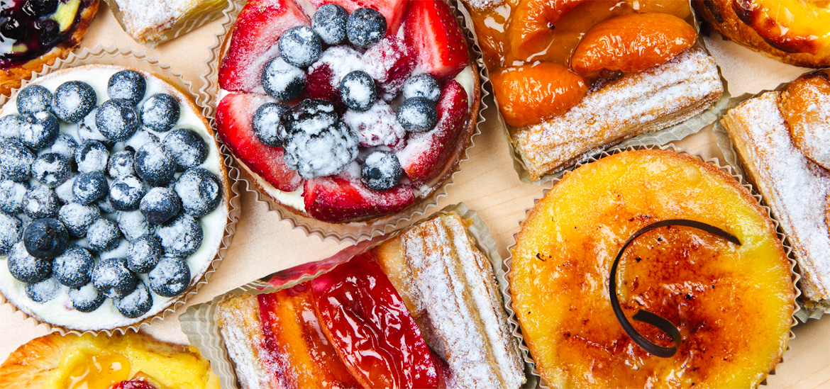 Cakes and tarts